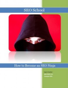 How to become an SEO Ninja - Cover
