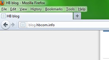 new firefox address bar