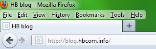 original firefox address bar